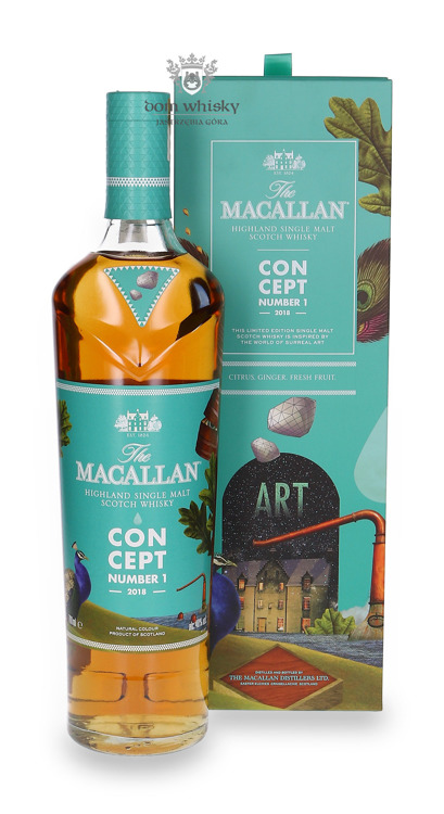 Macallan Concept Number 1 (2018) / 40% / 0,7l