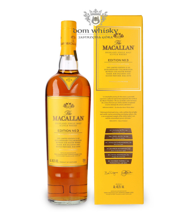 Macallan Edition No. 3 Limited Edition / 48,3% / 0,7l
