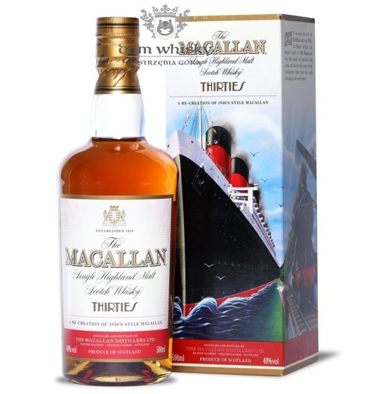 Macallan Thirties (The Travel Series) /40%/0,5l