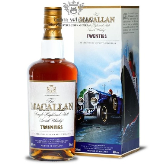 Macallan Twenties (The Travel Series) /40%/0,5l