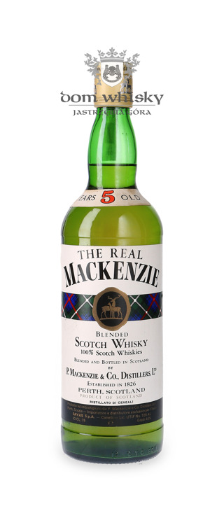 (The Real) Mackenzie 5-letni Blended Scotch /40%/ 0,75l