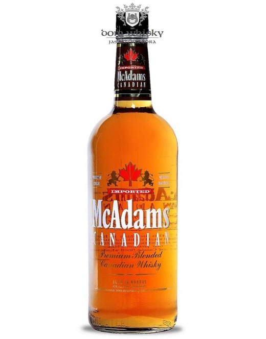 McAdams Canadian Premium Blend Canadian Whisky / 40% 1,0l