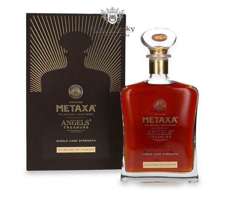 Metaxa Angel's Treasure Release 2019 (Grecja) / 42,2% / 0,7l