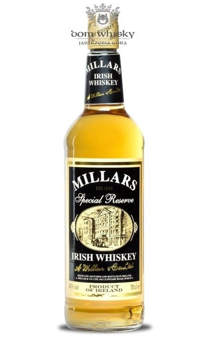 Millars Special Reserve Irish Whiskey / 40% / 0,7l