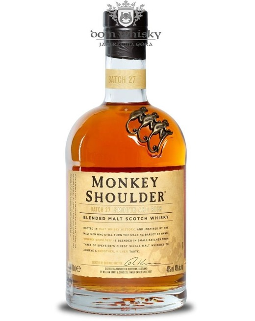 Monkey Shoulder Blended Malt / 40% / 0,7l