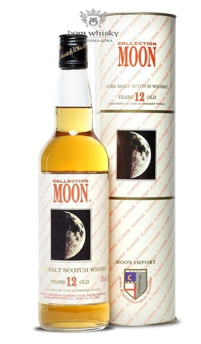 Moon Collection 12 letni / Islay, Skye, Orkney, Mull / 45% / 0,7