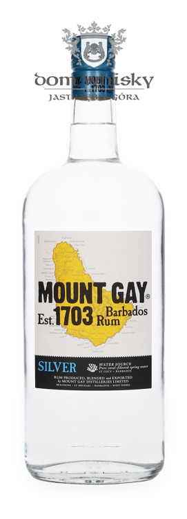 Mount Gay Silver Rum (Barbados) / 40% / 1,0l