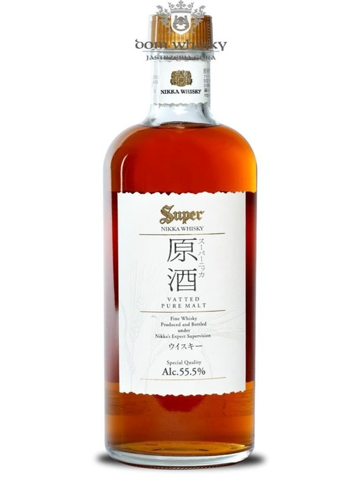 Nikka Super Genshu Pure Vatted Malt / 55,5% / 0,5l