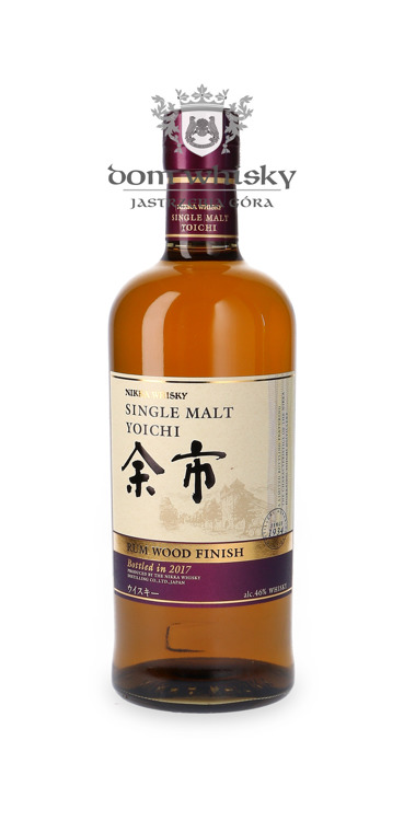 Nikka Yoichi Rum Wood Finish / 46%/ 0,7l