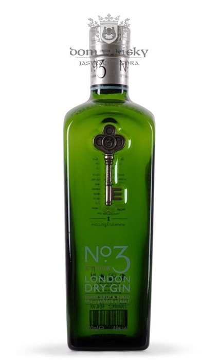 No. 3 London Dry Gin / 46% / 0,7l
