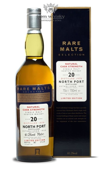 North Port Brechin 20 letni D.1979 B.1999 Rare Malts/61,2%/0,7l