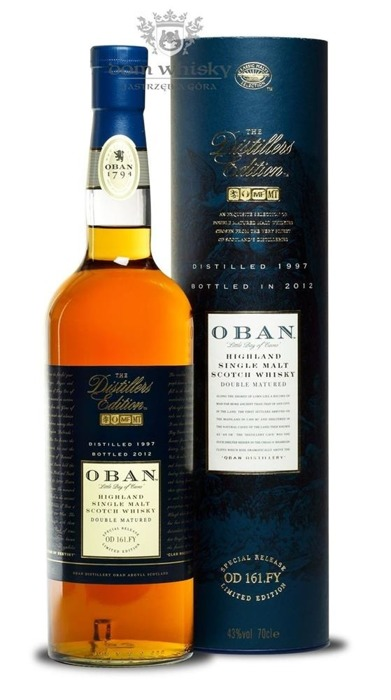 Oban 1997 (Bottled 2012) Distillers Edition / 43%/ 0,7l