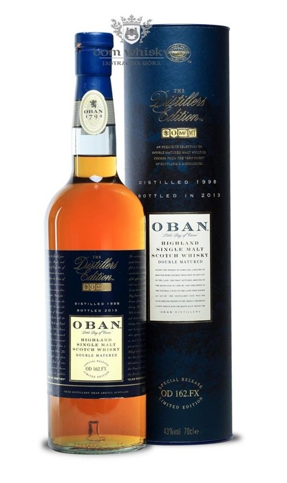 Oban 1998 (Bottled 2013) Distillers Edition / 43%/ 0,7l