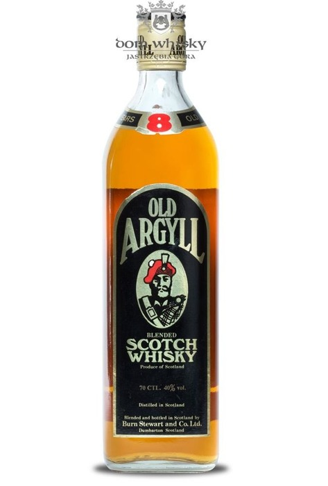 Old Argyll 8 letni Blended Scotch Whisky / 40% / 0,7l