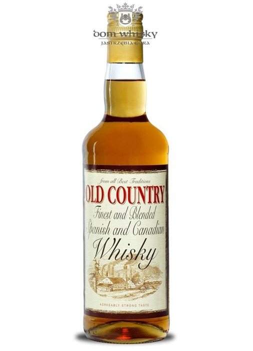 Old Country Spanish and Canadian Whisky / 40% / 0,7l