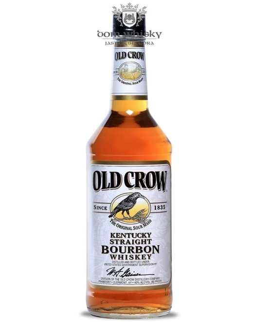 Old Crow Straight Bourbon / 40%/ 0,7l
