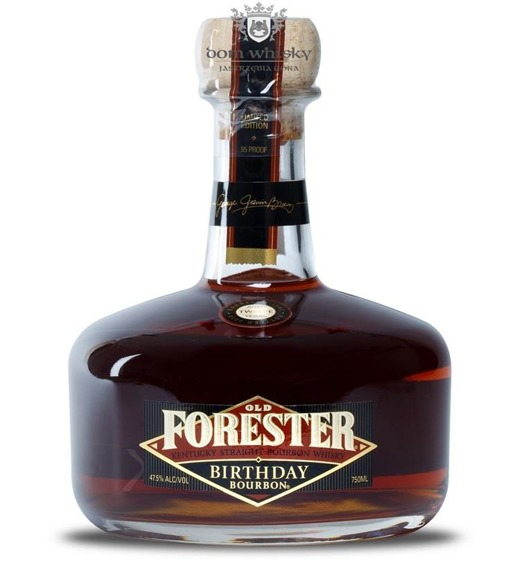 Old Forester 12 letni Birthday Bourbon Decanter / 47,5% / 0,75l