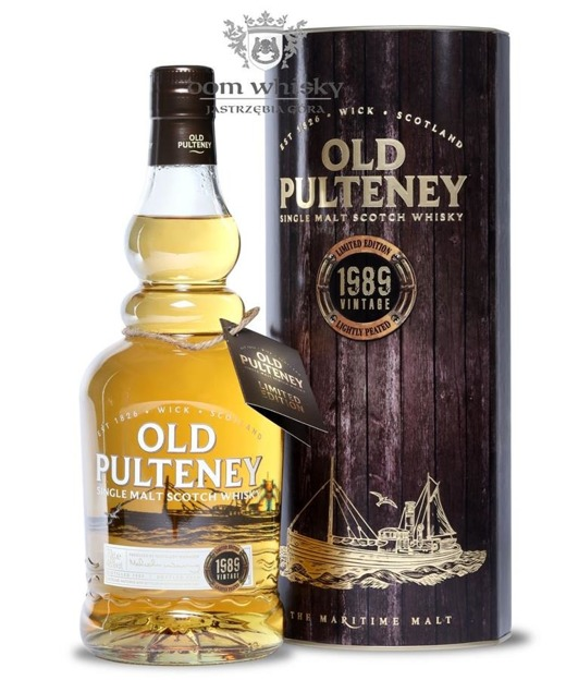 Old Pulteney 1989 (Bottled 2015) /46%/0,7l