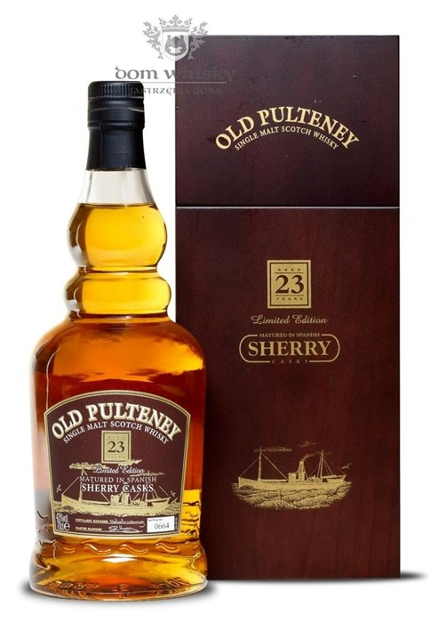 Old Pulteney 23-letni Matured in Sherry Casks / 43%/ 0,7l