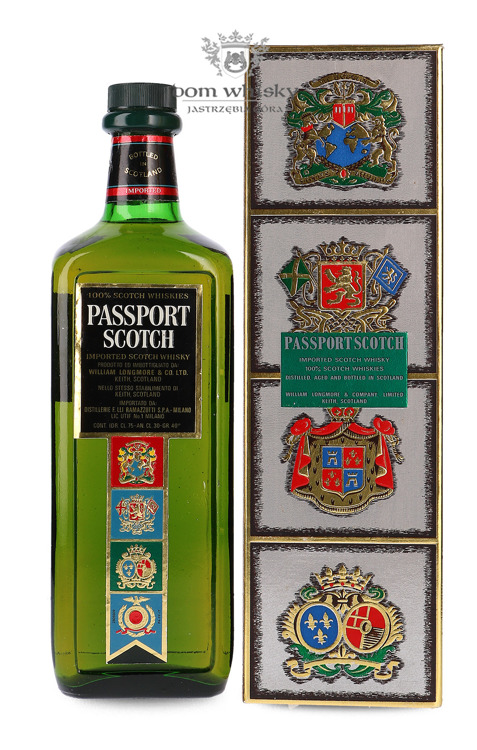 Passport Scotch Blended Whisky (Chivas Brothers) / 40% / 0,75l