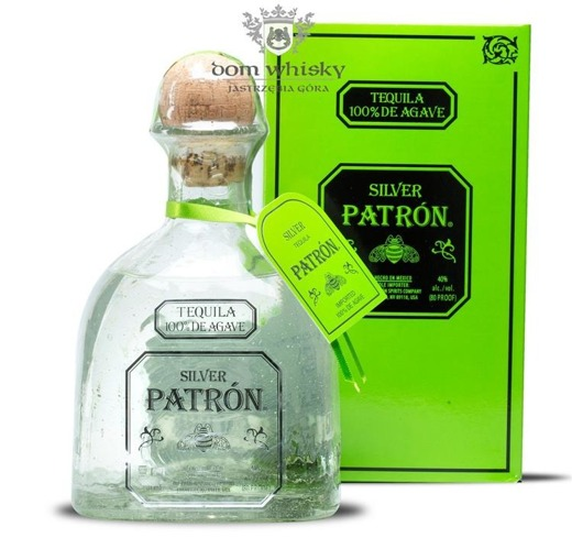 Patron Silver 100% Agave / 40% / 0,7l