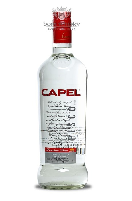 Pisco Capel Double Destilado Premium / 40% / 0,7l