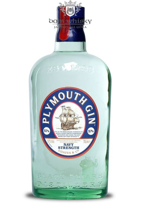 Plymouth Navy Strength London Gin / 57% / 0,7l