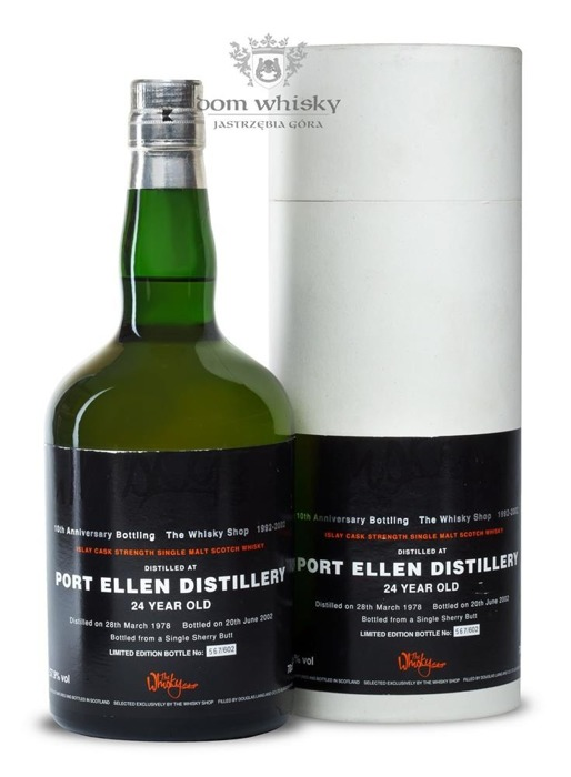 Port Ellen 24-letni (D.1978, B.2002) Douglas Laing for The Whisky Shop / 57,9%/ 0,7l
