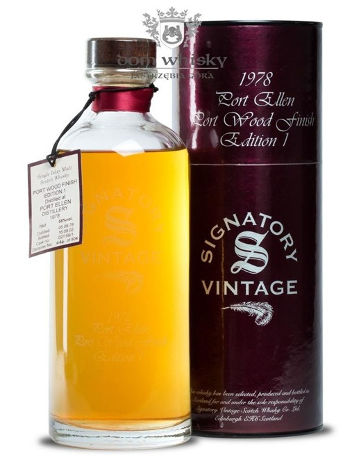 Port Ellen 24-letni (D.1978, B.2002) Signatory Vintage Port Wood Finish Edition 1 / 58%/ 0,7l
