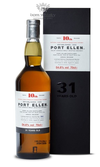 Port Ellen 31-letni (D.1978, B.2010) 10th Release / 54,6%/ 0,7l