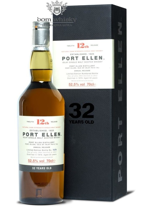 Port Ellen 32-letni (D.1979, B.2012) 12th Release / 52,5%/ 0,7l