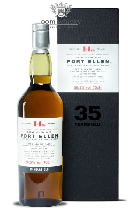 Port Ellen 35-letni (D.1978, B.2014) 14th Release / 56,5%/ 0,7l