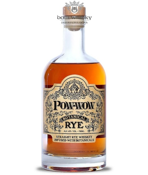 Pow-Wow Straight Rye Infused with Botanicals / 45%/ 0,7l