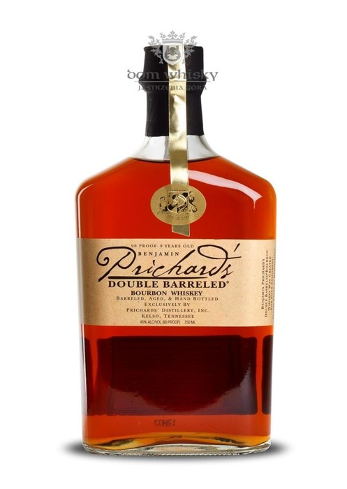 Prichard's Double Barreled Tennessee Whiskey / 45% / 0,75l