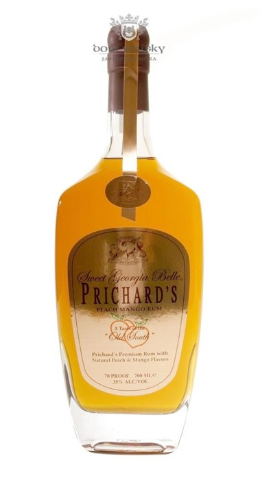 Prichards Premium Rum liqueur with Peach & Mango / 35% / 0,7l