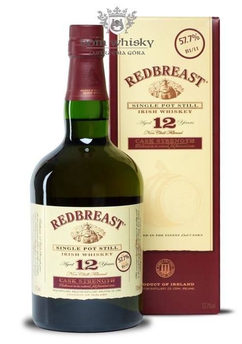 Redbreast 12-letni Single Pot Still Cask Strength /57,7%/0,7l
