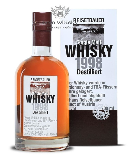 Reisetbauer D.1998 Single Malt Whisky (Austria) / 56% / 0.7l