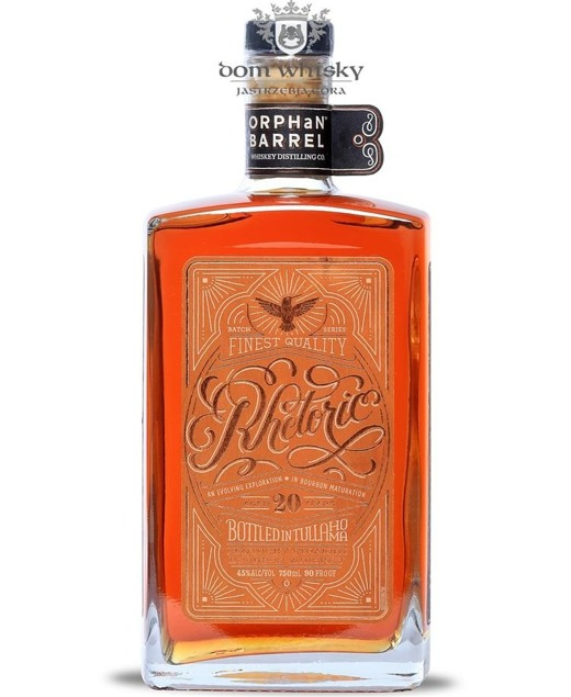 Rhetoric 20-letni Orphan Barrel Bourbon Whiskey / 45% / 0,75l