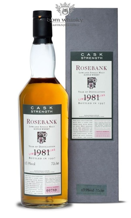 Rosebank 1981 (Bottled 1997) Flora & Fauna Cask Strength / 63,9% / 0,7l