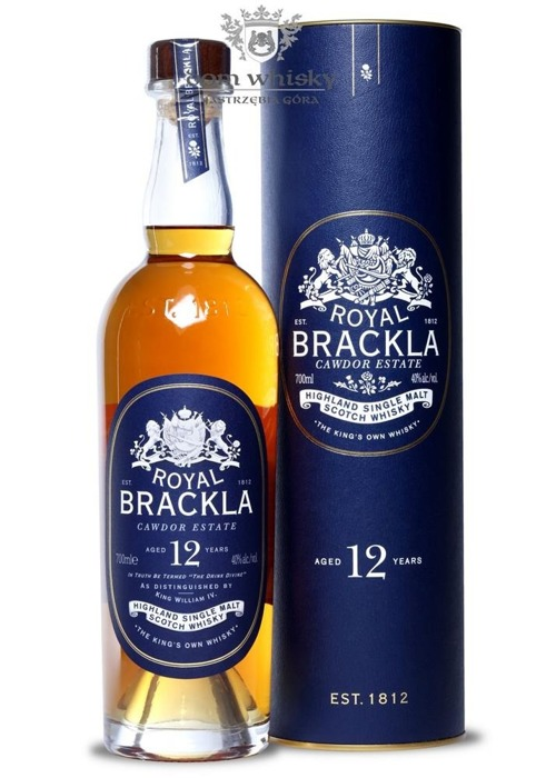 Royal Brackla 12-letnia (Bottled 2015) /40%/0,7l