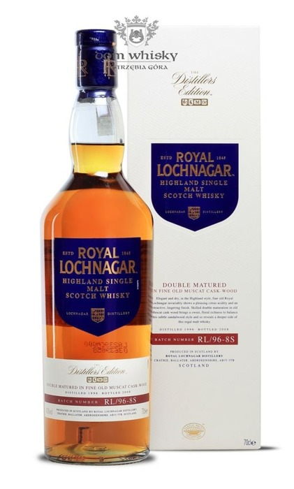 Royal Lochnagar Distillers Edition (D.1996, B.2008) / 40%/ 0,7l