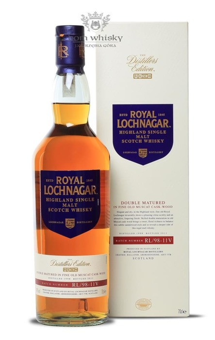 Royal Lochnagar Distillers Edition (D.1998, B.2011) / 40%/ 0,7l