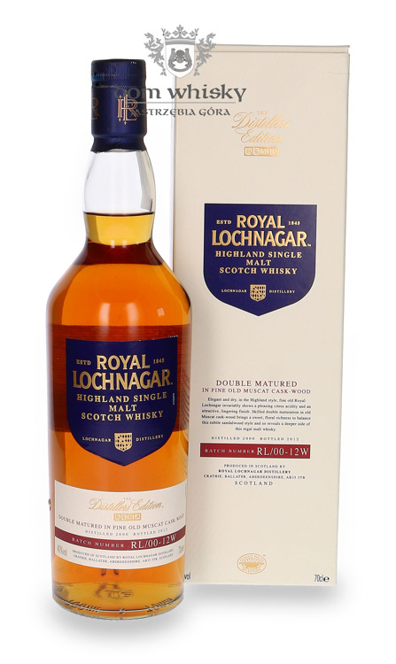 Royal Lochnagar Distillers Edition (D.2000, B.2012) / 40%/ 0,7l
