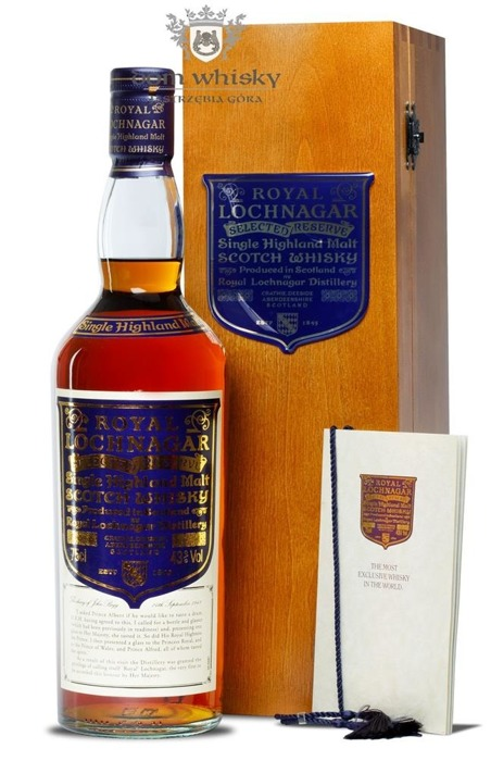 Royal Lochnagar Selected Reserve / 43%/ 0,75l