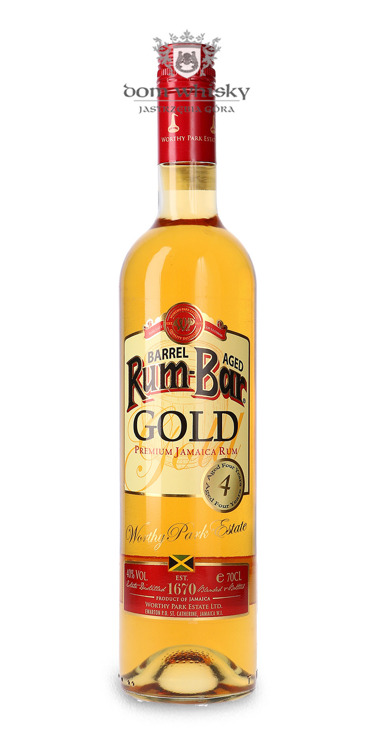 Rum-Bar Gold Barrel Aged Jamaica Rum / 40% / 0,7l