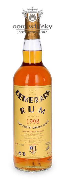 Rum Demerara Moon Collection, (D.1998 B.2016) / 45% / 0,7l