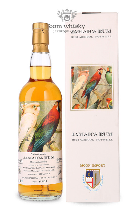 Rum Jamaica Moon Collection, (D.2003 B.2016) / 45% / 0,7l