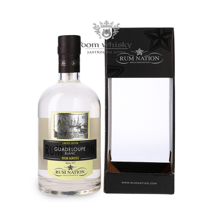 Rum Nation Guadeloupe Blanc, Release 2015 / 50% / 0,7l
