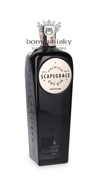 Scapegrace Premium Dry Gin / New Zeland / 42,2% / 0,7l