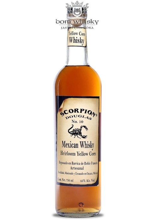 Scorpion Mexican Whisky Heirloom Yellow Corn / 45% / 0,75l